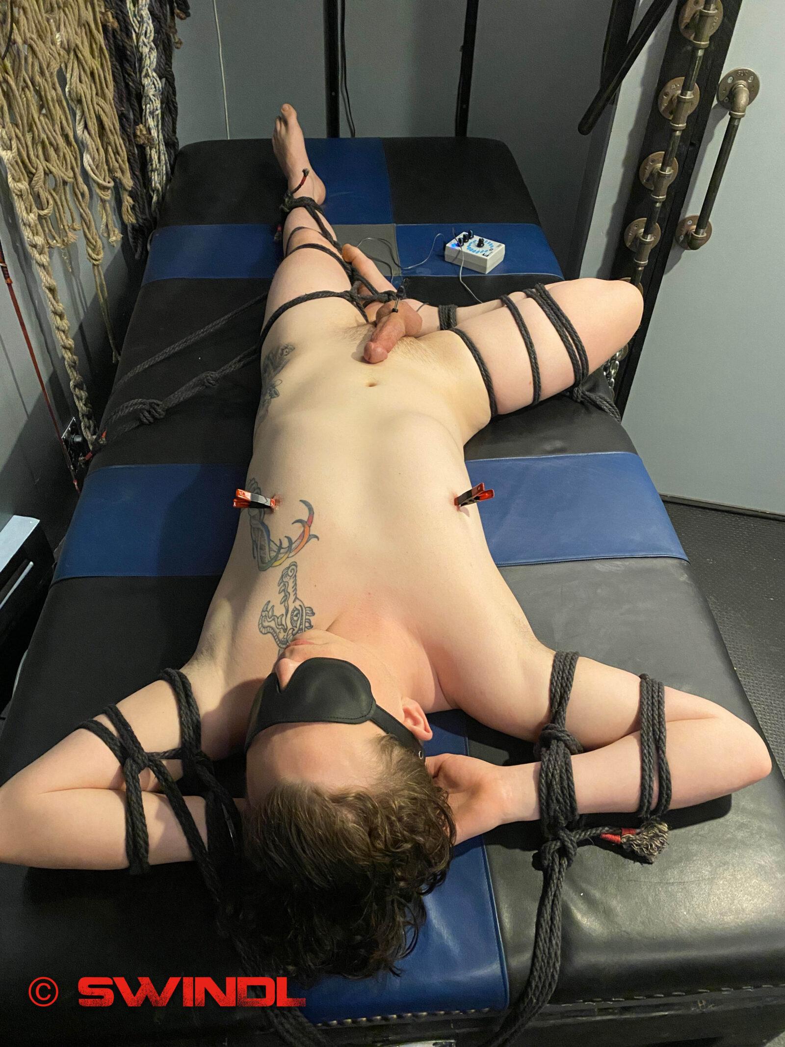 Asymmetrical Bondage Table